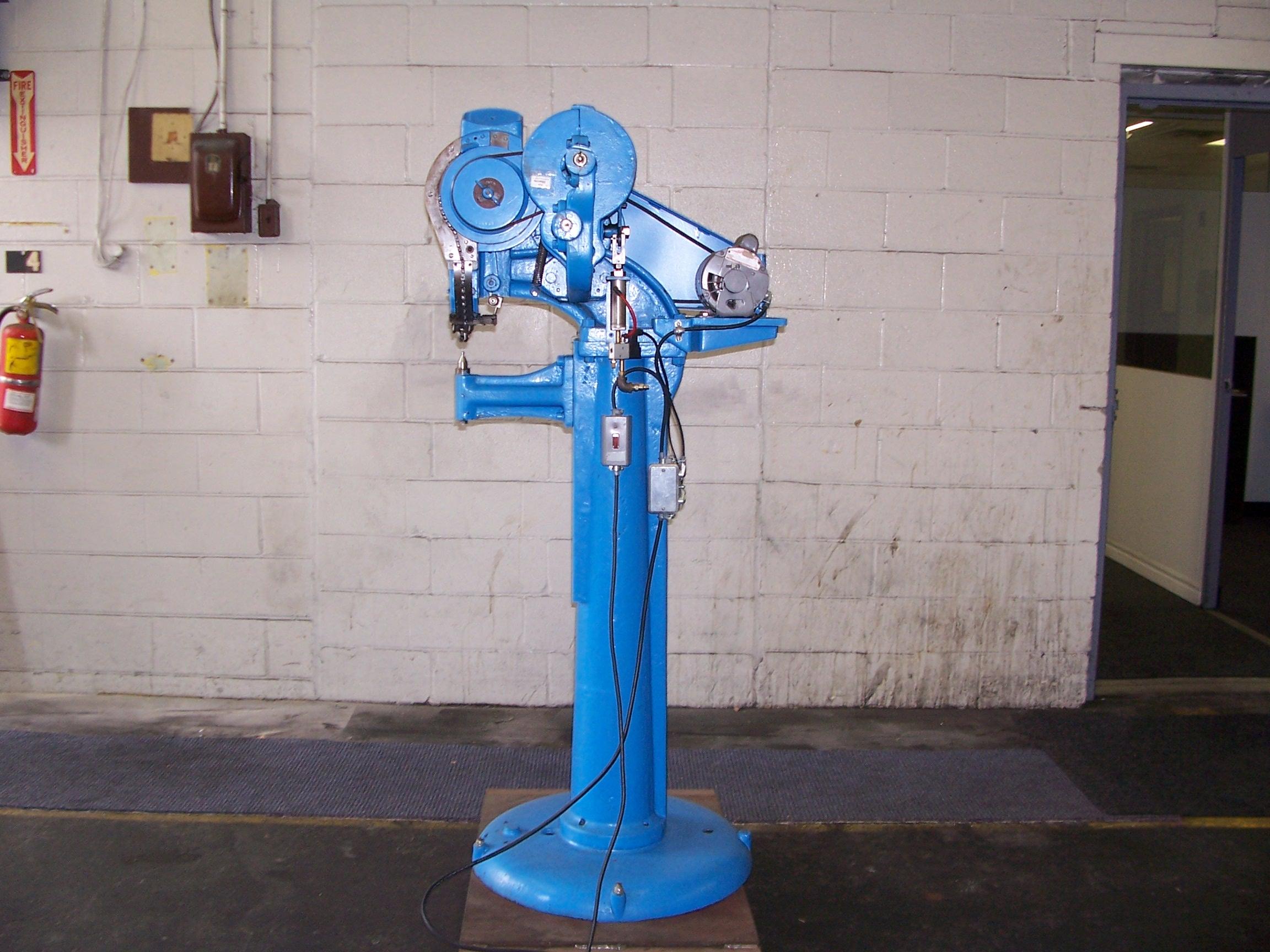 Rivet Machine Anvils : Thompson used rivet machines b