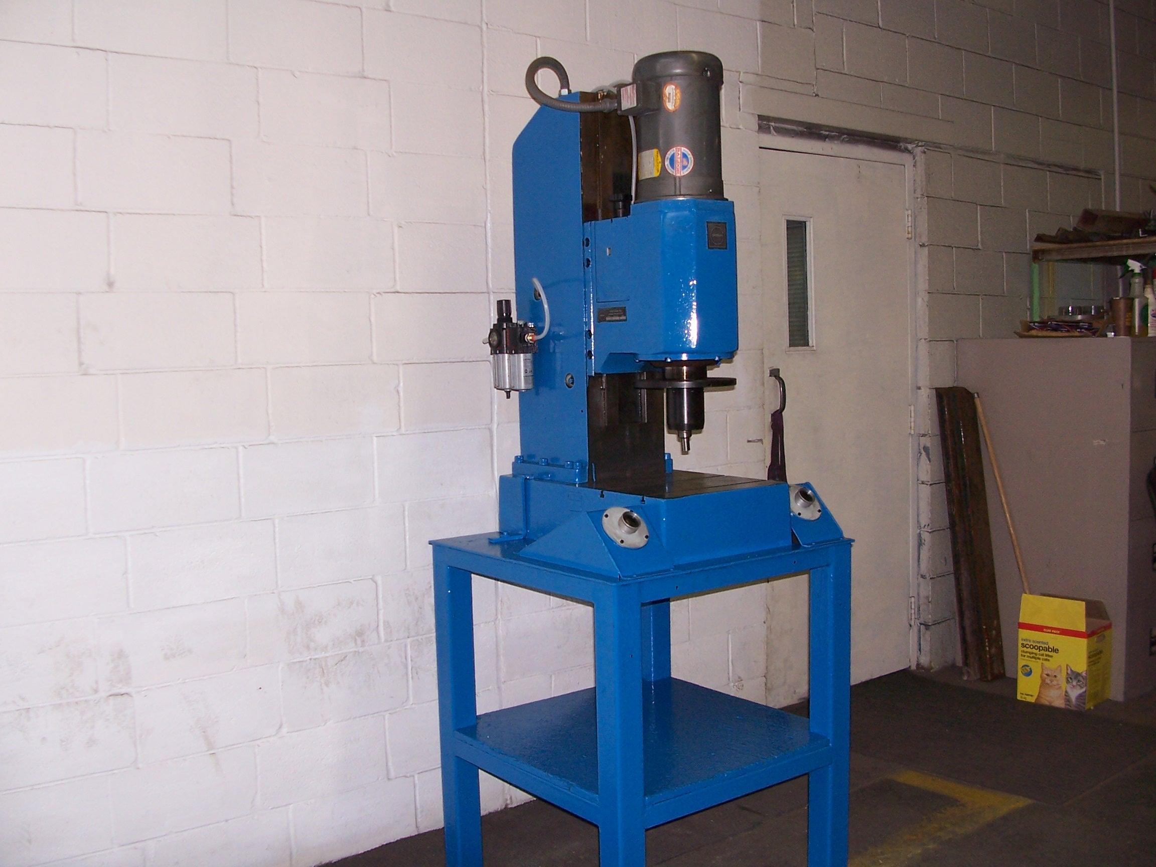Rivet Machine Anvils : Used orbital rivet machines b machine sales
